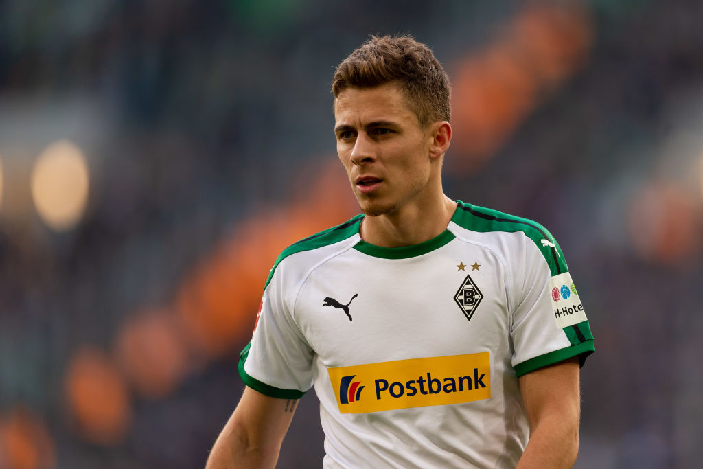 Thorgan Hazard is wanted by Arsenal and Liverpool