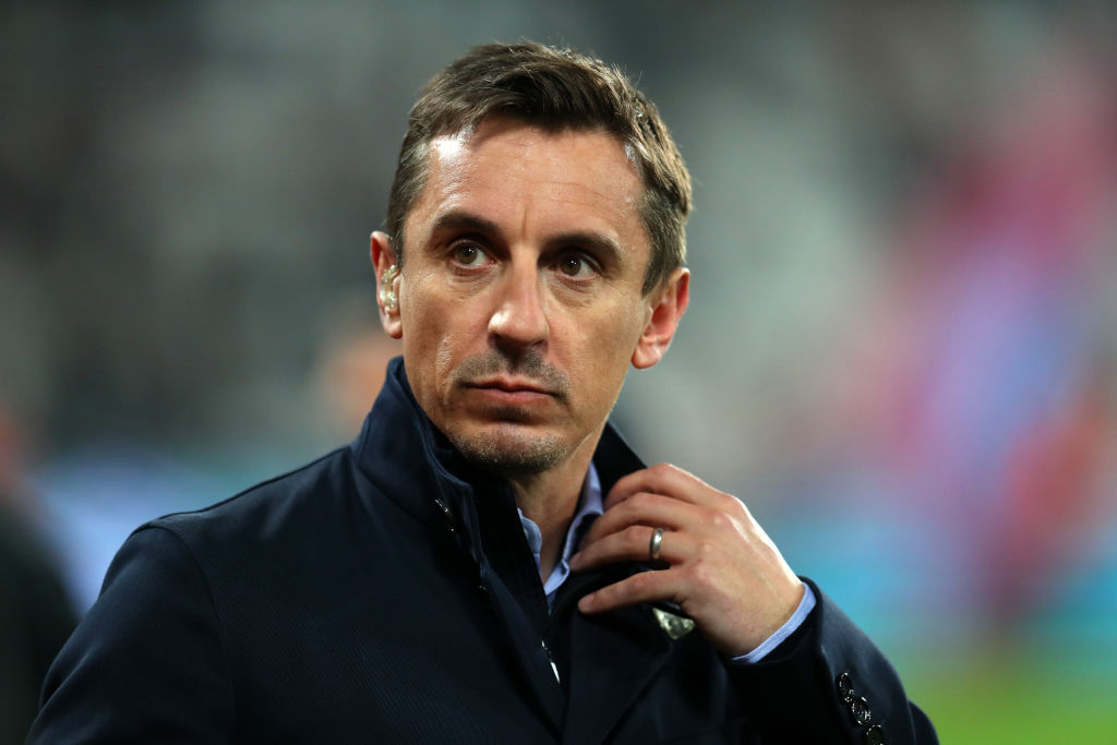 Gary Neville rates Liverpool's chances against Barcelona should they beat Porto