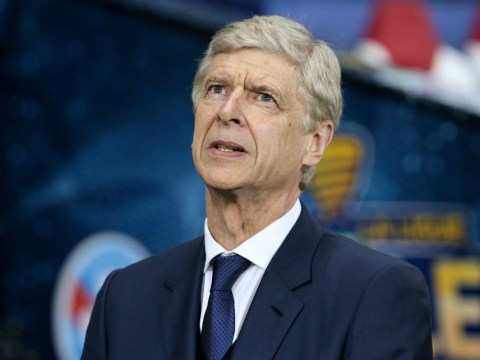 Arsene Wenger reacts to Ajax's Champions League semi-final victory over Tottenham