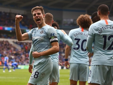 Cesar Azpilicueta sends message to Chelsea fans who turned on Maurizio Sarri during Cardiff City win