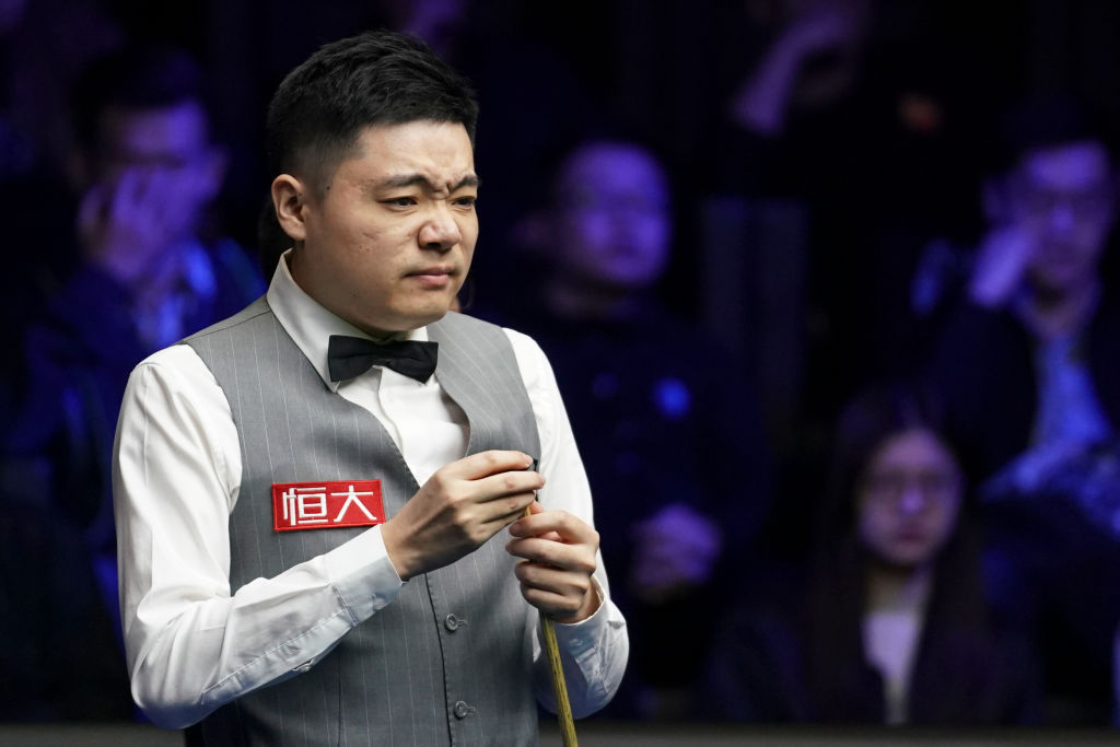 Ding Junhui looking forward to boozy Snooker World Championship celebration if he lifts the trophy
