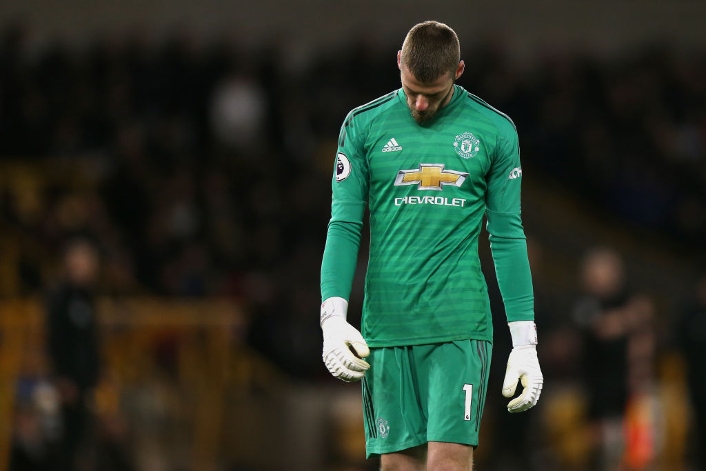 'Very poor' Manchester United star David de Gea singled out after Wolves defeat