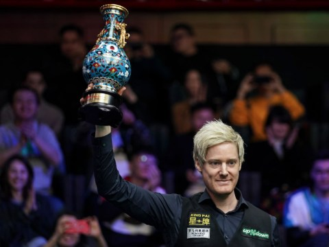 China Open win keeps Neil Robertson away from Ronnie O'Sullivan in World Championship draw