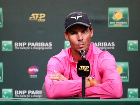 Uncle Toni apologised to Rafael Nadal for 'injured person playing tennis' comments