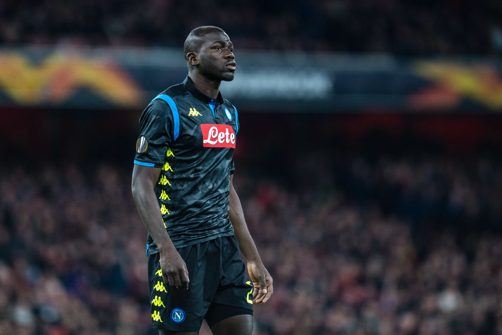 Manchester United target Kalidou Koulibaly will 'wait and see' over summer transfer