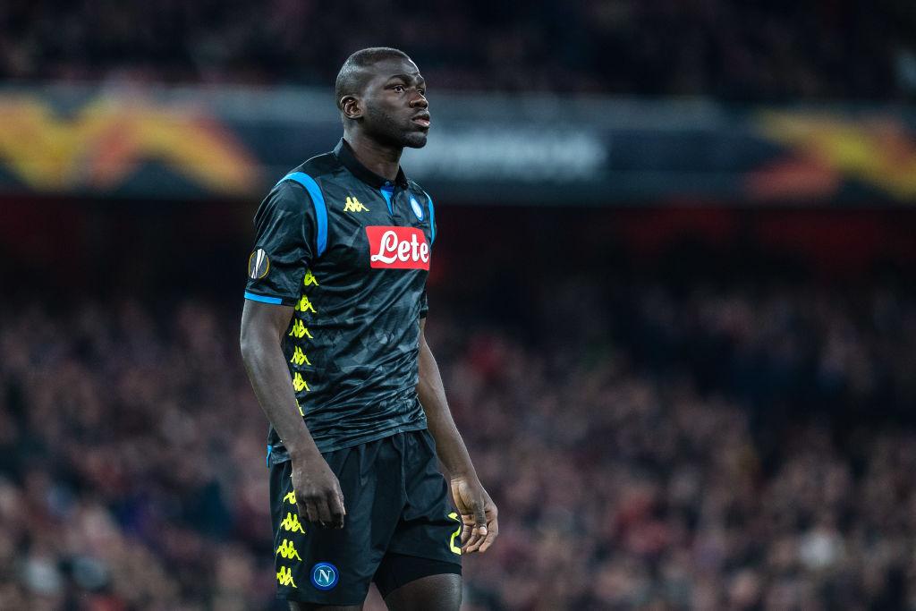 Manchester United are targeting Napoli star Kalidou Koulibaly