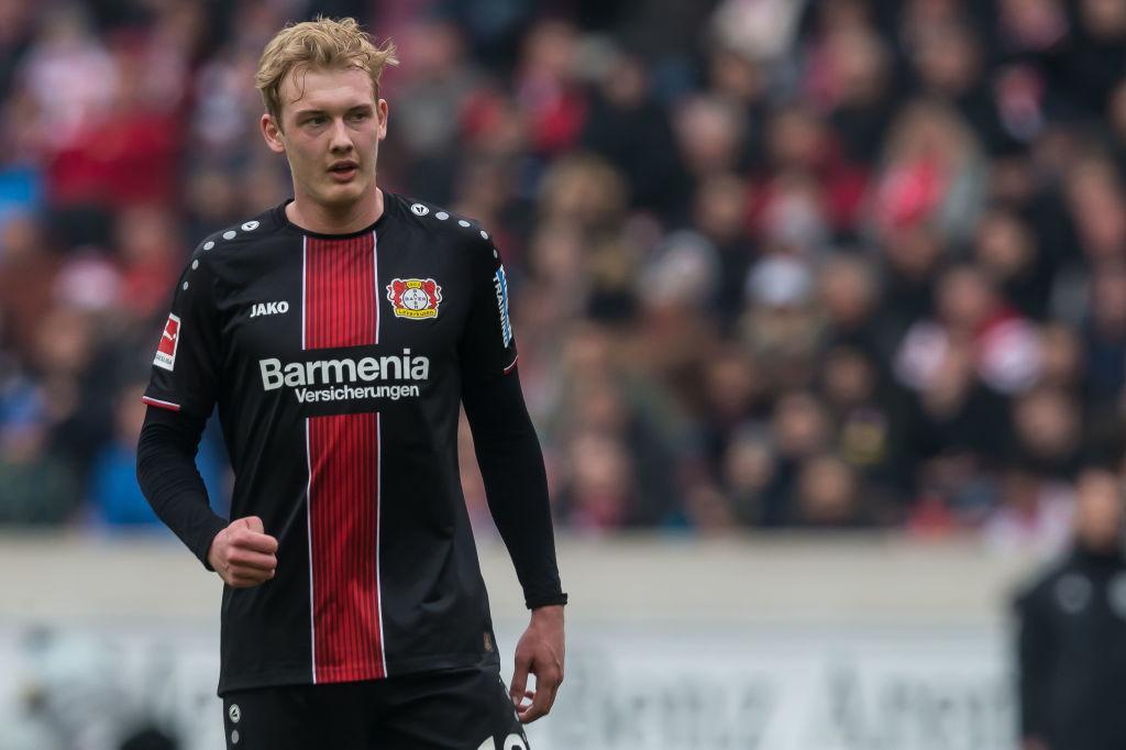 Liverpool set to rival Juventus for Bayer Leverkusen playmaker Julian Brandt