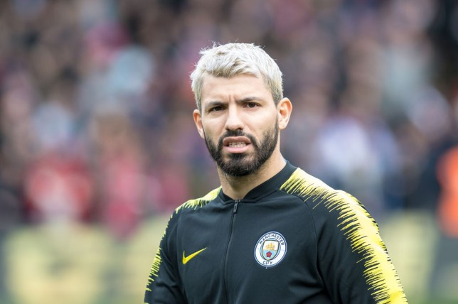 Sergio Aguero is still carrying his 'issue'