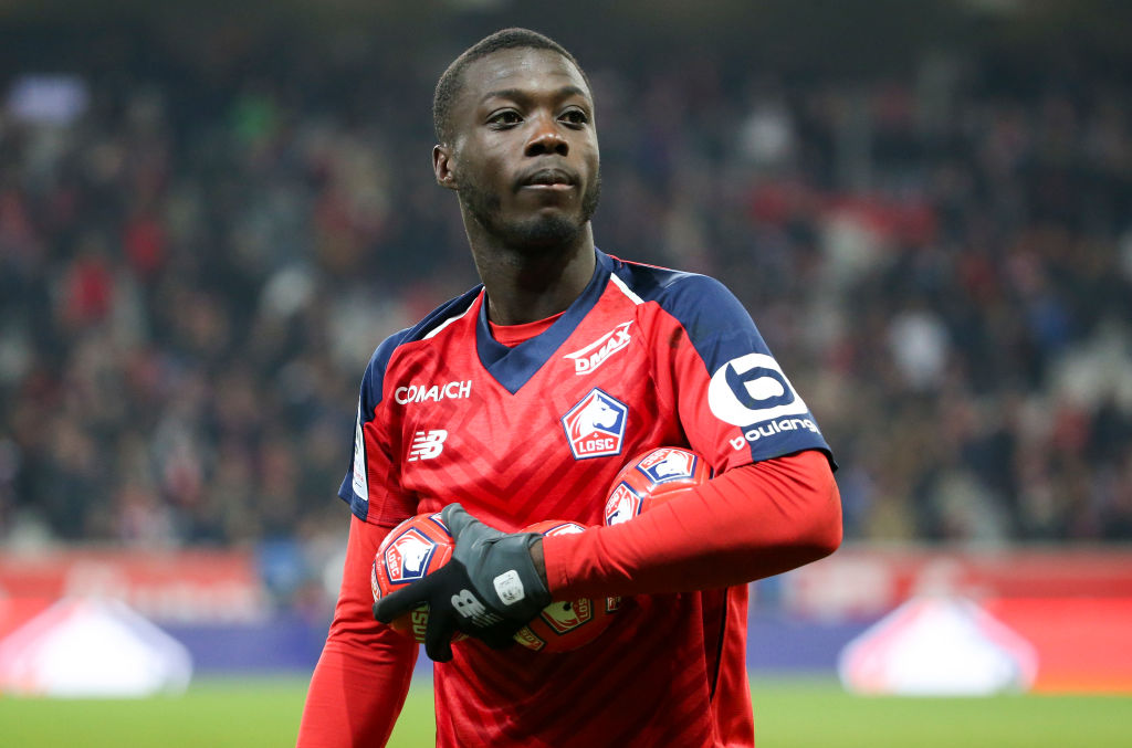 Liverpool add Arsenal and Chelsea transfer target Nicolas Pepe to shortlist
