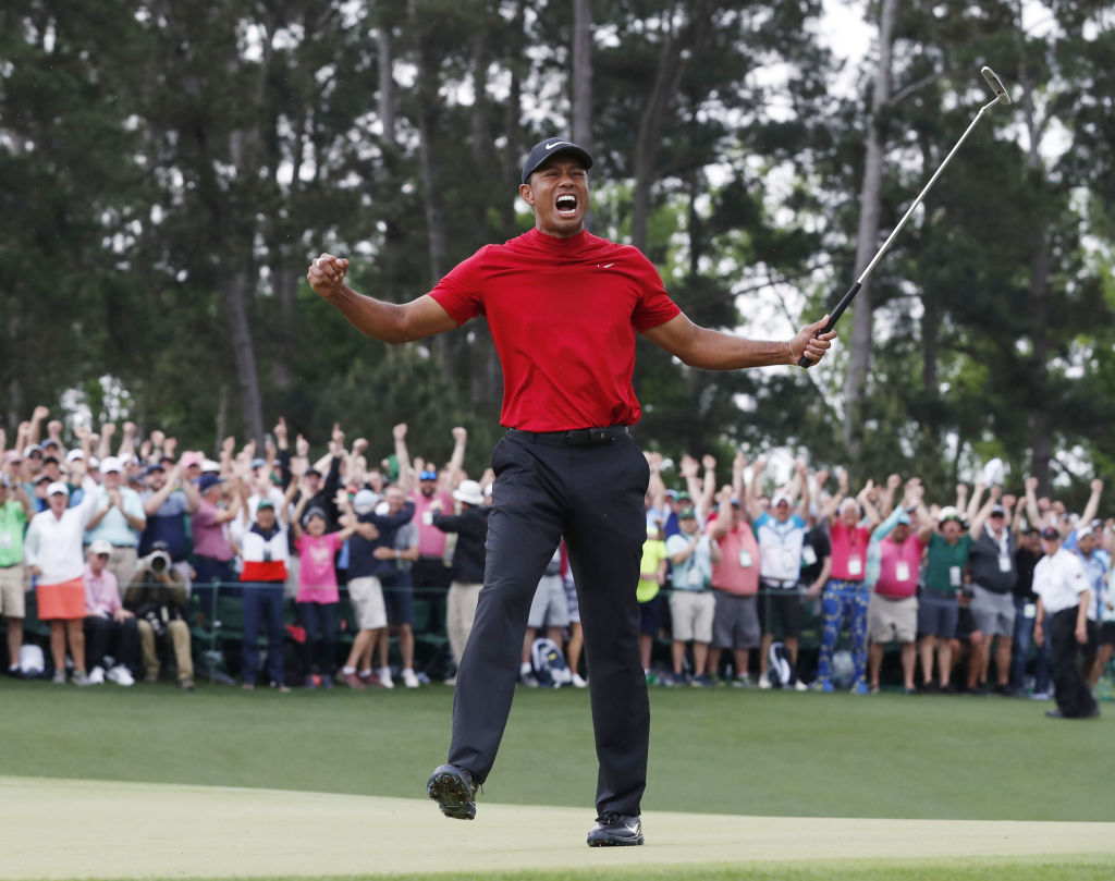 It was Woods' fifth Masters win