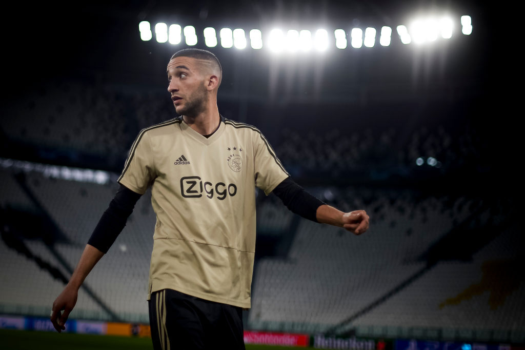 Arsenal, Liverpool and Manchester United eye moves for £25m Ajax star Hakim Ziyech