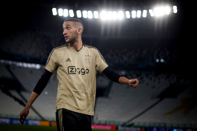 Arsenal, Liverpool and Man Utd are all admirers of Ajax star Hakim Ziyech