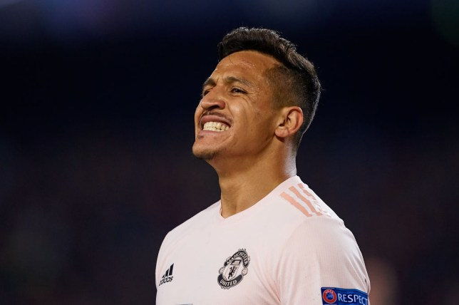 Alexis Sanchez came on as a second half substitute against Barcelona