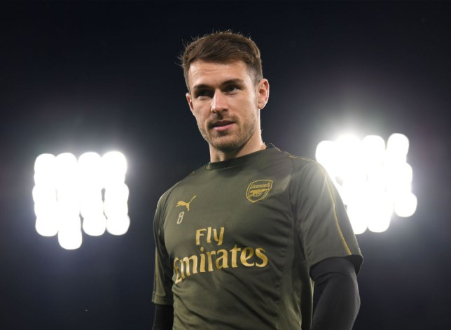 Aaron Ramsey to miss Arsenal's clash with Crystal Palace