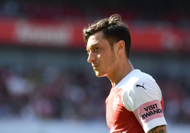 Arsenal star Mesut Ozil has reacted to the 'frustrating' defeat to Crystal Palace