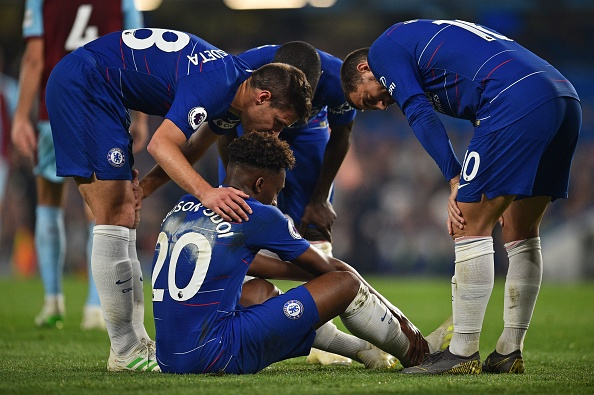 Callum Hudson-Odoi suffered a 'serious' injury as Chelsea drew to Burnley
