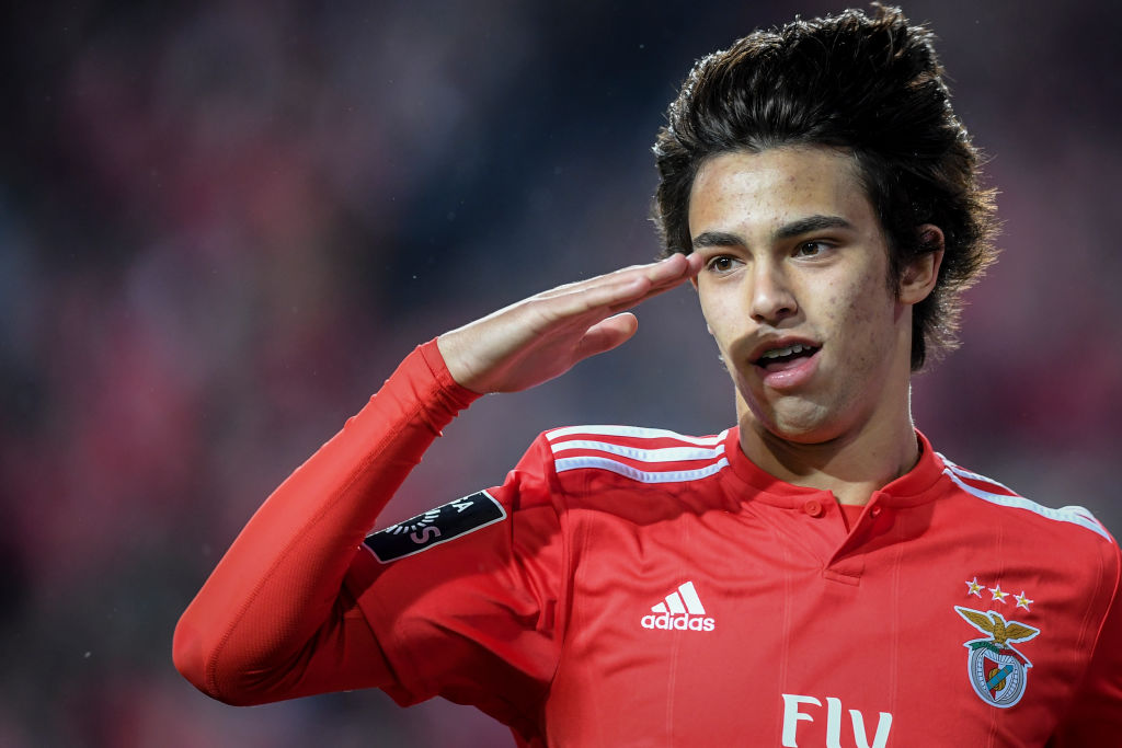 Benfica's Joao Felix a target for Juventus as Cristiano Ronaldo gives seal of approval