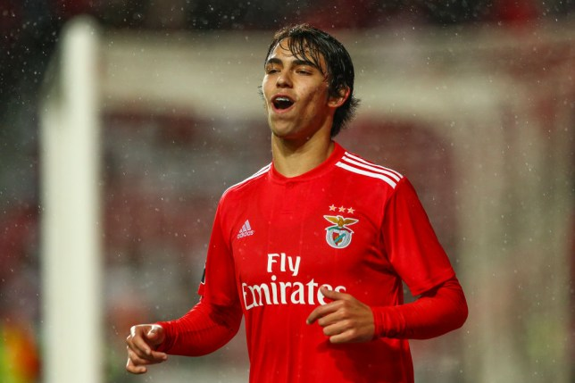 Felix scored twice for Benfica