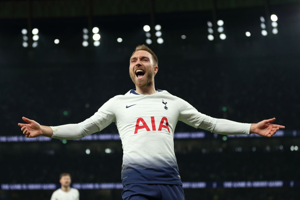 Christian Eriksen scored a crucial late goal in Spurs' 1-0 victory over Brighton