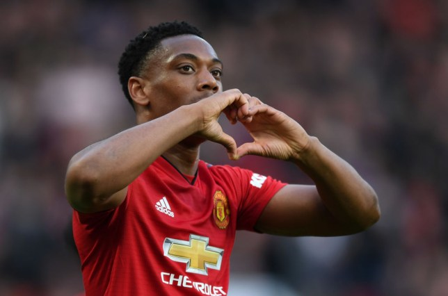 Anthony Martial is fit again for Manchester United