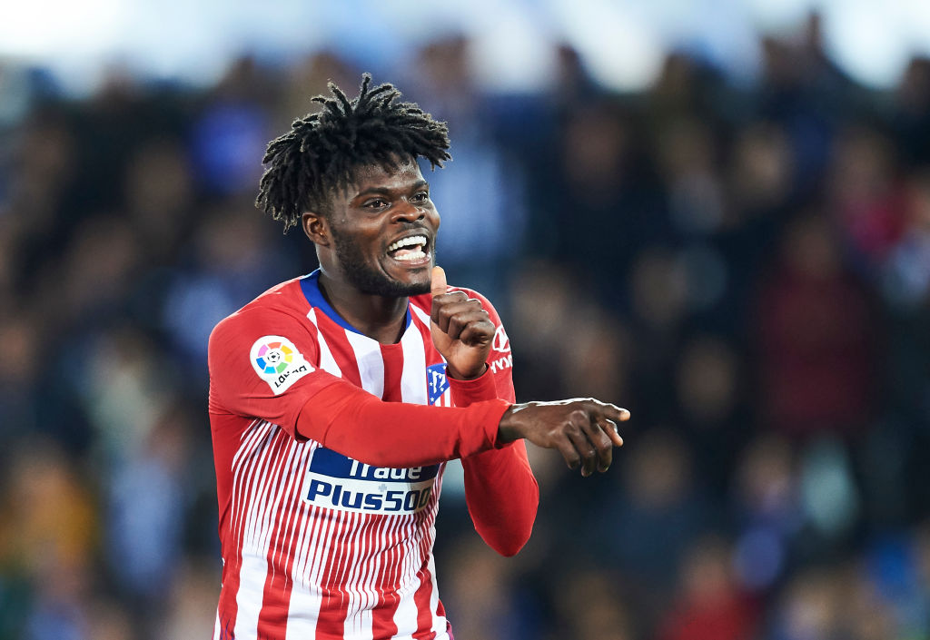 Atletico Madrid midfielder Thomas Partey speaks out on Manchester United and Arsenal transfer links