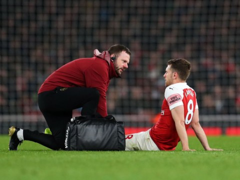 Unai Emery provides Aaron Ramsey injury update after Newcastle win