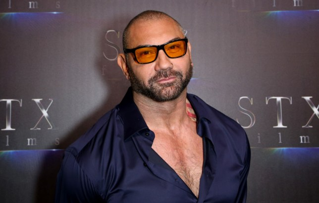 Dave Bautista at Cinema Con