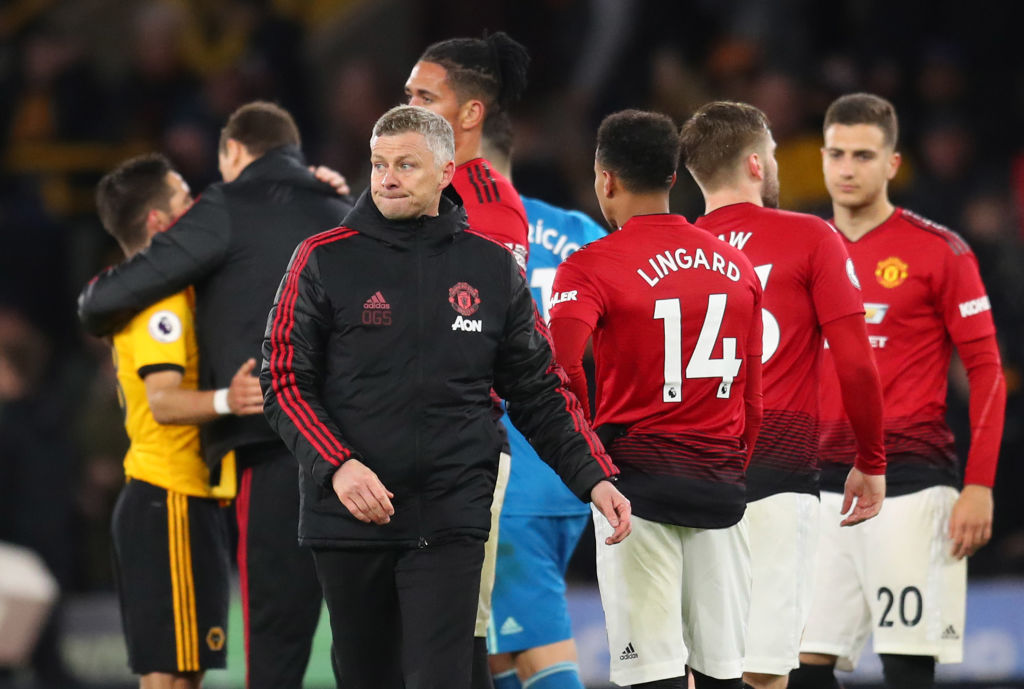 Solskjaer reserves praise for 'excellent' Scott McTominay after Manchester United's defeat to Wolves