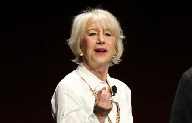 Helen Mirren at Cinema Con