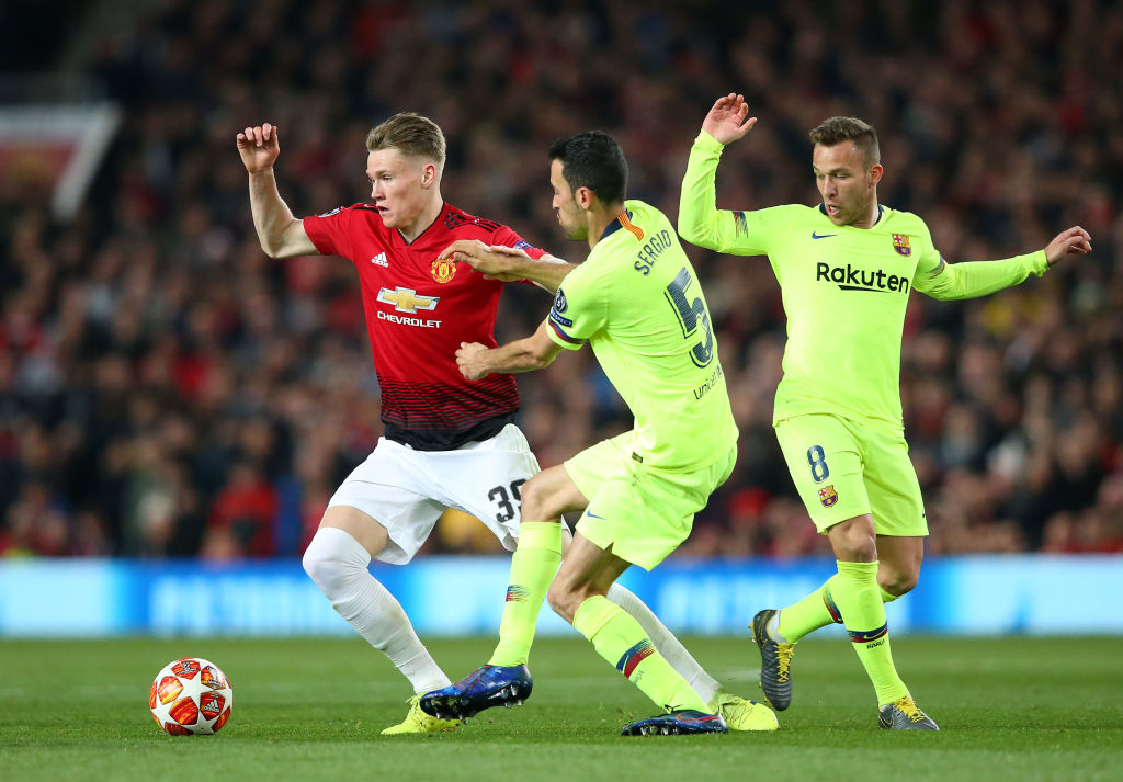 McTominay was arguably United's standout player on Wednesday evening
