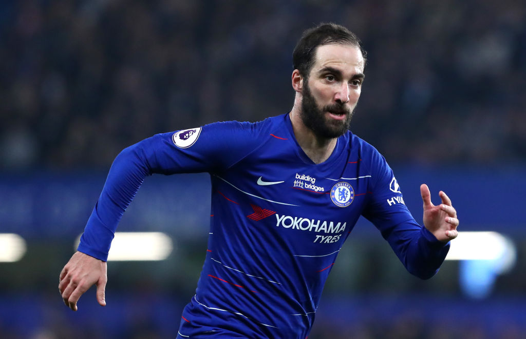 Gonzalo Higuain has struggled to live up to expectations at Chelsea