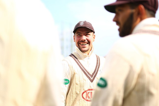 Surrey cricket captain Rory Burns