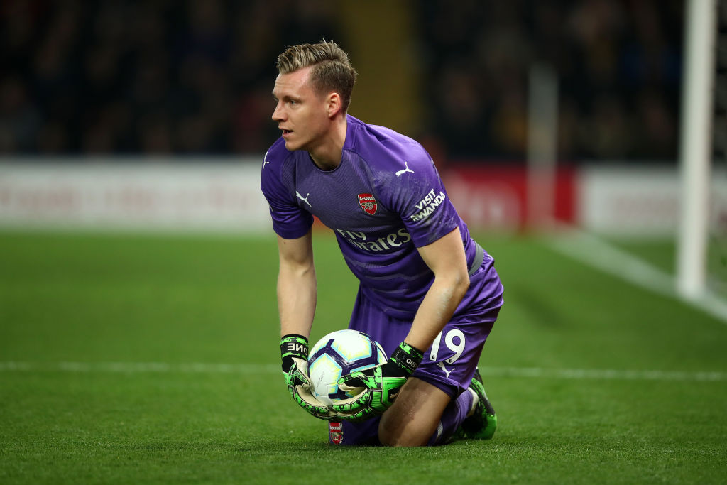 Bernd Leno has been on of Arsenal's most impressive performers in recent weeks