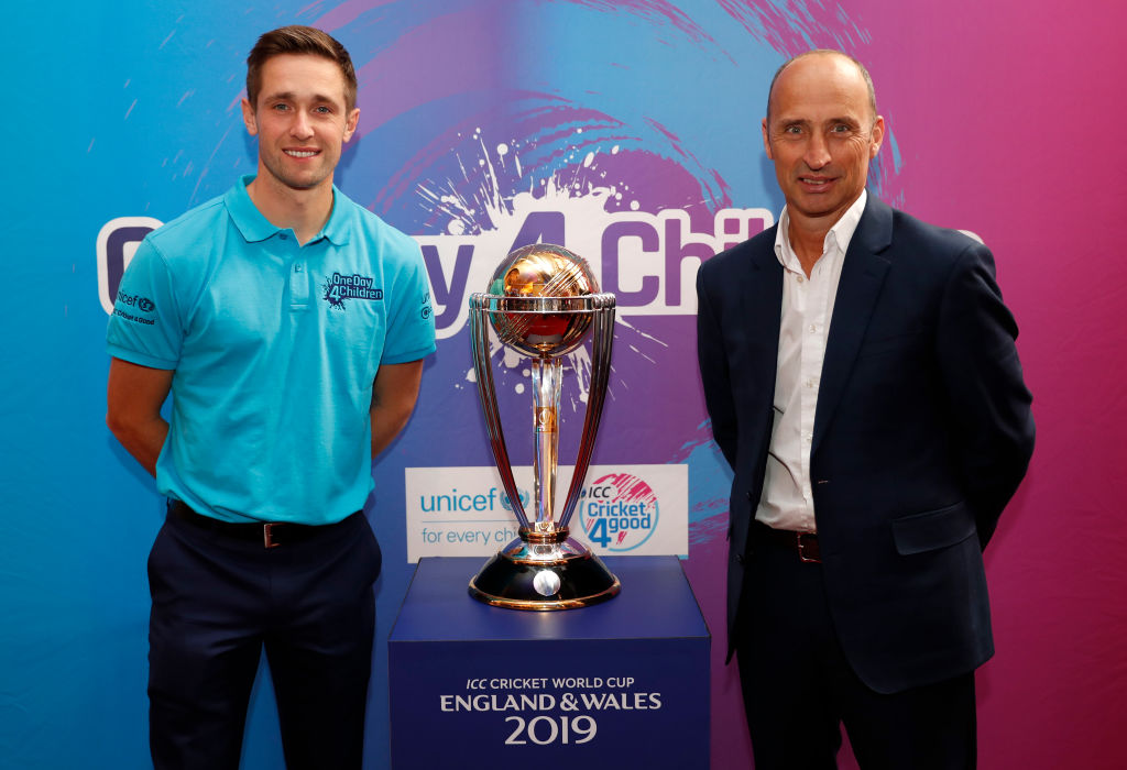 Nasser Hussain has discussed the Cricket World Cup and Ashes series