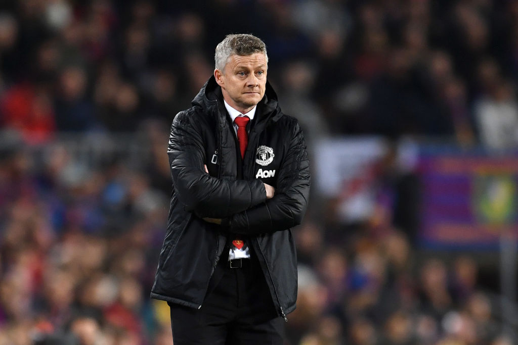 Barcelona are a couple of levels above Manchester United, admits Ole Gunnar Solskjaer