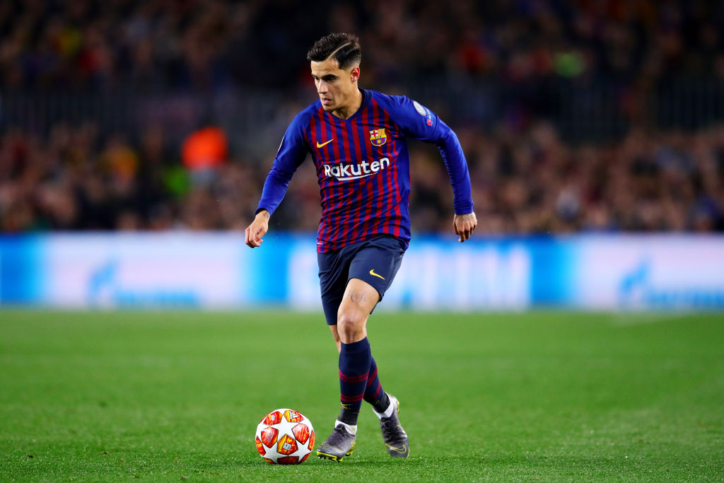 Barcelona chief sends message to Manchester United over Philippe Coutinho transfer