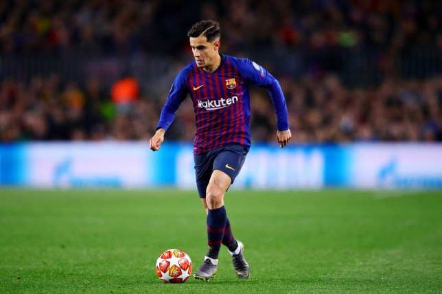 ad5f2fefef9 Barcelona chief sends message to Manchester United over Philippe Coutinho  transfer
