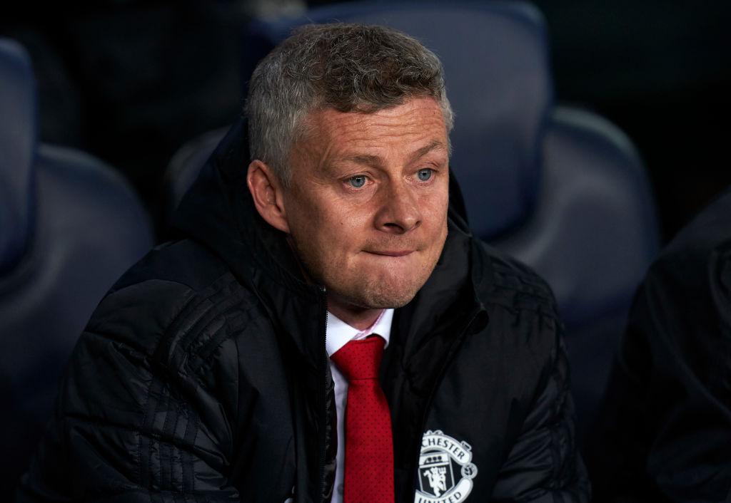 Manchester United-Chef Ole Gunnar Solskjaer ist nach der Barca-Niederlage unzufrieden mit den Spielern