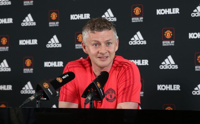 Ole Gunnar Solskjaer reacts to Arsenal, Chelsea and Spurs making European semi-finals