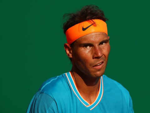 Rafael Nadal reacts to Novak Djokovic's Monte Carlo exit after surviving own scare
