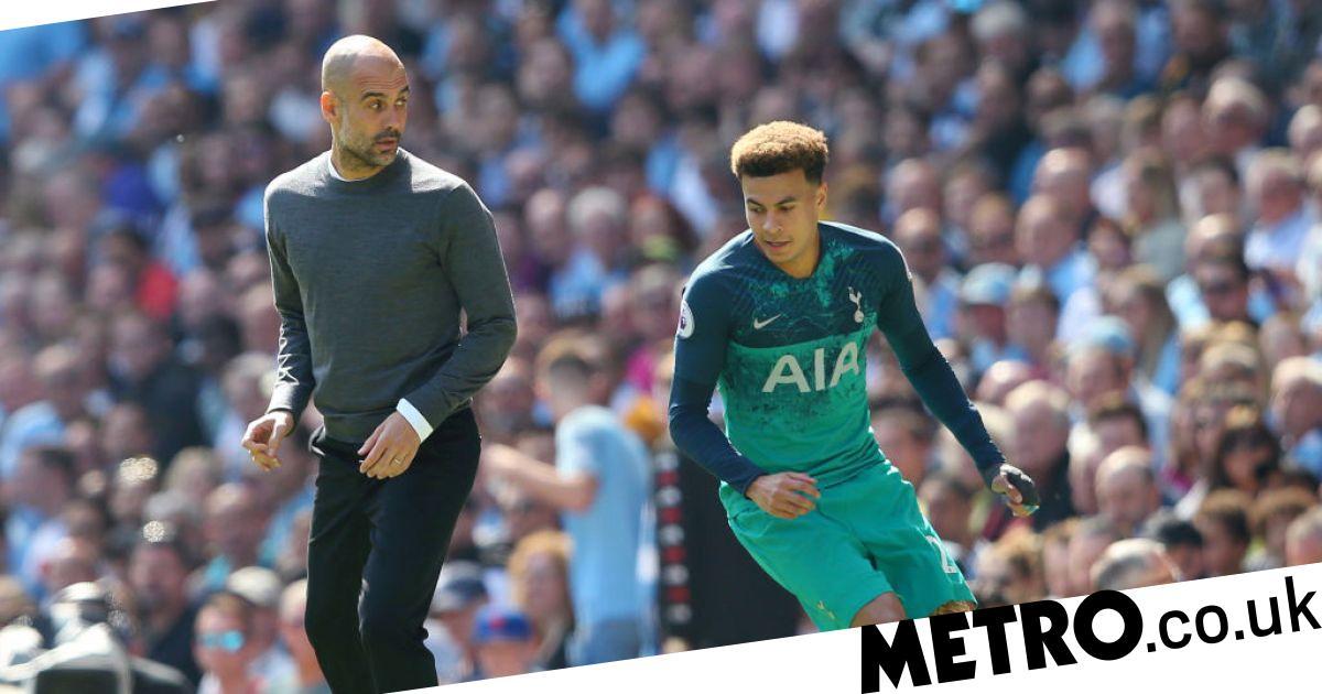 Man City vs Tottenham: Guardiola mocks Dele Alli from the ...