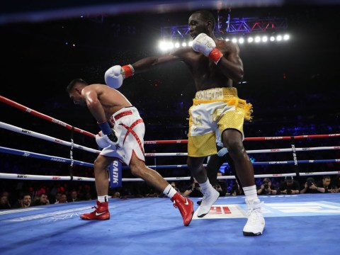 Amir Khan 'couldn't move' after taking low blow from Terence Crawford