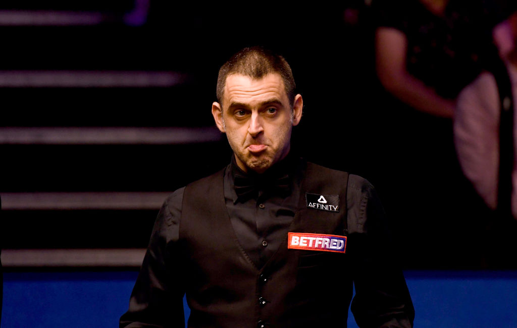 Ronnie O'Sullivan reveals he's been ill for a month after James Cahill World Championship loss