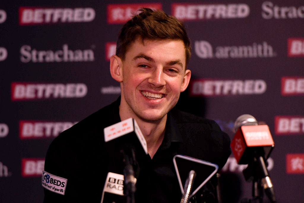James Cahill has an incredible record against world number ones after beating Ronnie O'Sullivan
