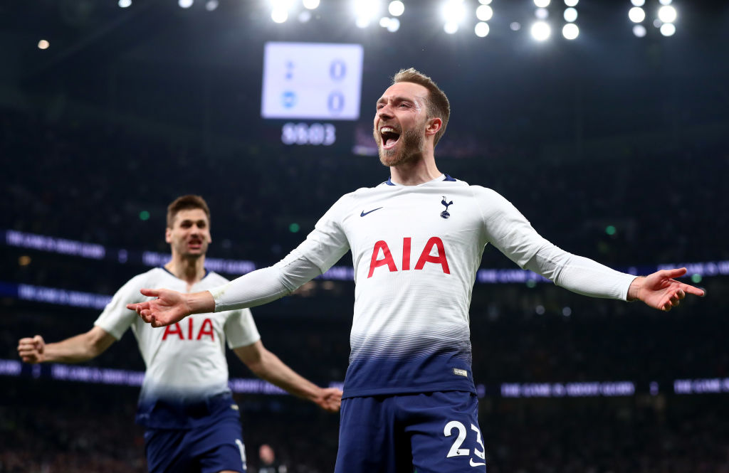 Christian Eriksen has been linked with a move to Real Madrid