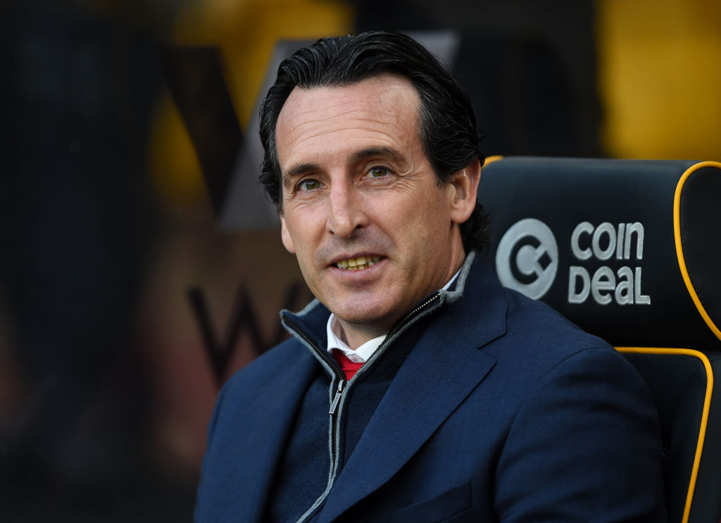 Unai Emery rates Arsenal's top-four chances after shock defeat to Wolves