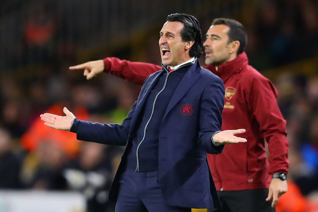 Arsenal news: What Unai Emery told players at half-time of Wolves loss
