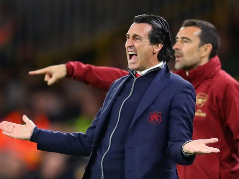 Unai Emery reveals what he told Arsenal players at half-time of Wolves defeat