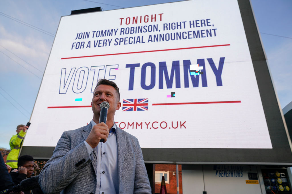 Anyone who votes for Tommy Robinson to be an MEP will be let down