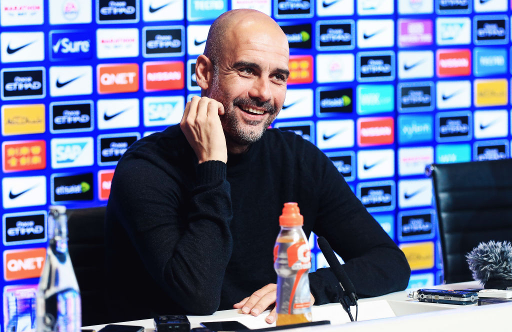 Pep Guardiola branded his Man City players the best ever Premier League side after Man United win